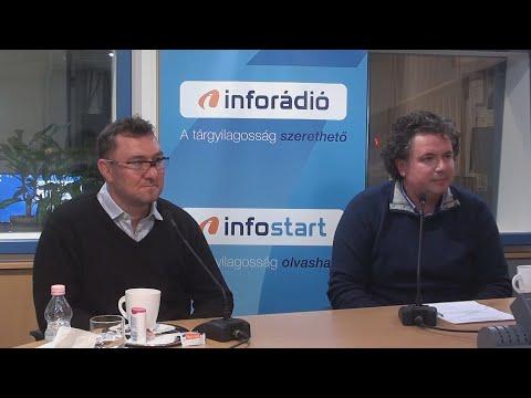 InfoRádió - Aréna - Jenei András és Pletser Tamás - 2021.10.12.