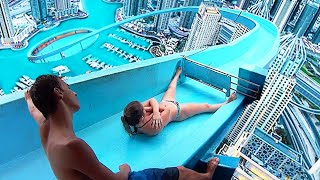 Top 10 MOST INSANE Waterslides IN THE WORLD!