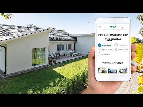 Produktväljare och mängdberäknare för byggnader