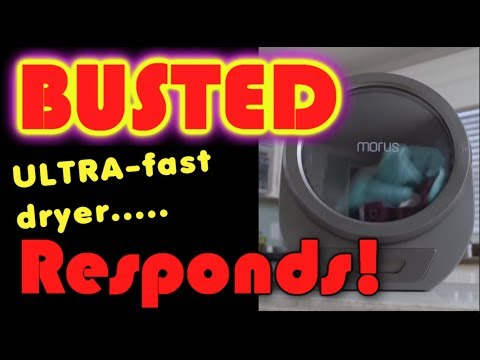 Busted 'Super-Dryer' responds! - UCmb8hO2ilV9vRa8cilis88A