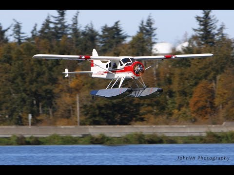 "Hangar 9 DHC-2 Beaver 30cc ARF 110"" Maiden on Floats (HAN4545) - UCLqx43LM26ksQ_THrEZ7AcQ"