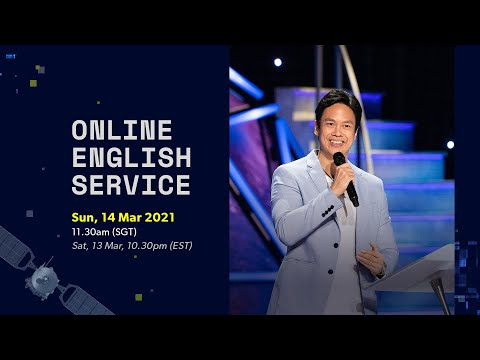 New Creation Church Online  Sun, 11.30am SGT  Sat, 10.30pm EST