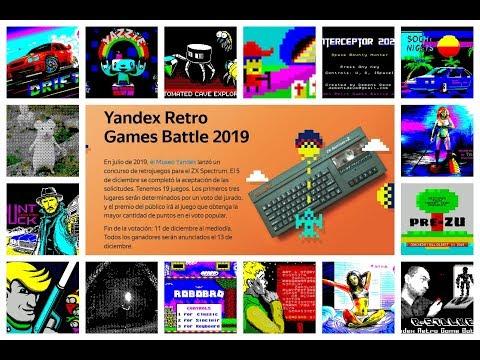 Yandex Retro Game Battle 2019. ¡Vienen los Rusos!
