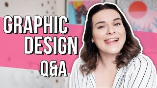 Graphic Design Q&A | Finding Clients, Building a Portfolio & Careers Advice