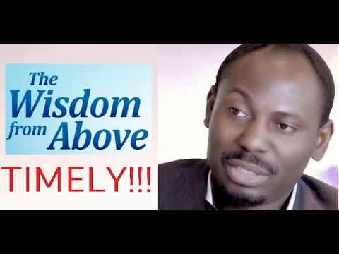 Wisdom from Above - Must Watch!!!