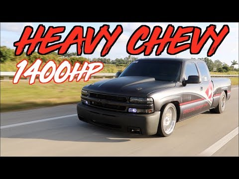 "1400HP Turbo Silverado Extended Cab""! The Heavy Chevy"