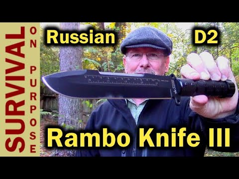 Kizlyar Supreme Survivalist X - The Rambo Survival Knife Project