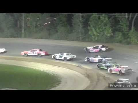 Street Stock A-Main - Crystal Motor Speedway - 9-18-2021 - dirt track racing video image
