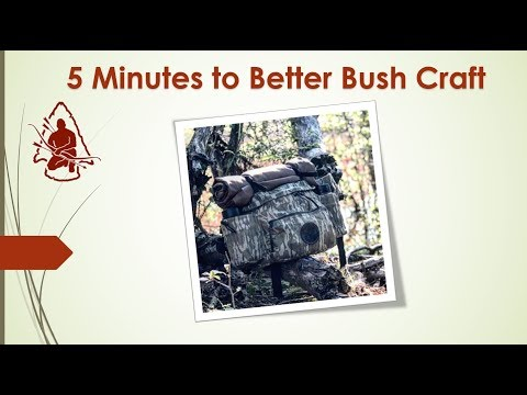 5 Minutes to Better Bushcraft proofing and Reproofing