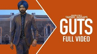 Guts (Full Video) | Tarsem Jassar | New Punjabi Song | Latest Punjabi Songs 2019 | Gabruu