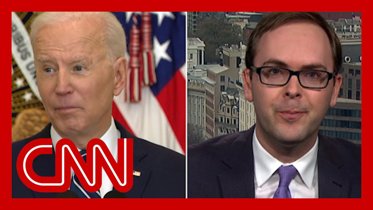 'Not true': Daniel Dale fact-checks Biden's border crisis claim