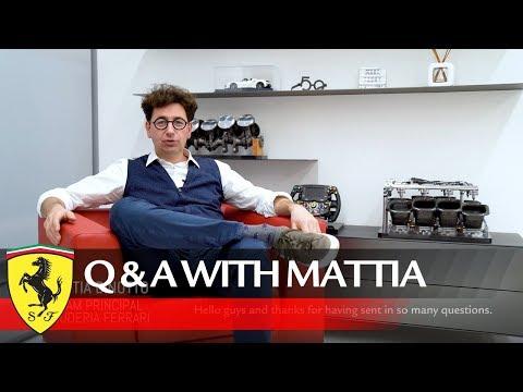 Scuderia Ferrari Q&A with Mattia Binotto