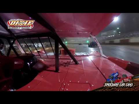 #00 Dalton Polston - Dixie Speedway 5-1-21 - Super Late Model - In-Car Camera - dirt track racing video image