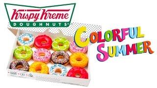 Recettes de cuisine : Chocmiel Dégustation Krispy Kreme Colorful Summer 2016 🇯🇵 en vidéo