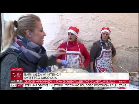 Msza w intencji Świętego Mikołaja. Tak wyglądają mikołajki w Bari