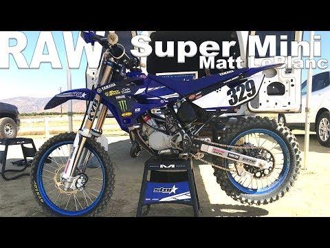 Super Mini Raw 2 Stroke with Matt LeBlanc - Motocross Action Magazine