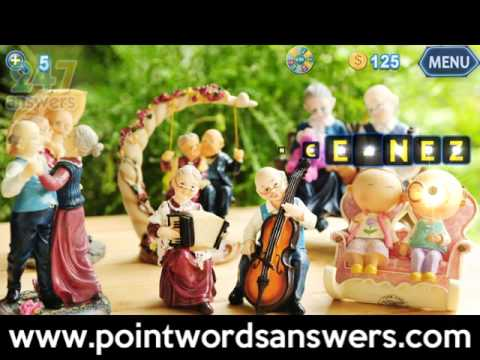 Point Words Answers English Levels 1-10