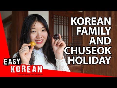 How Korean families celebrate the Chuseok holiday? | Super Easy Korean photo