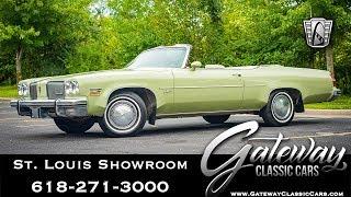 1974 Oldsmobile Delta 88 Royale Convertible  Gateway Classic Cars St. Louis  #8140