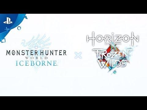 Monster Hunter Word: Iceborne - Horizon Zero Dawn: The Frozen Wilds   PS4