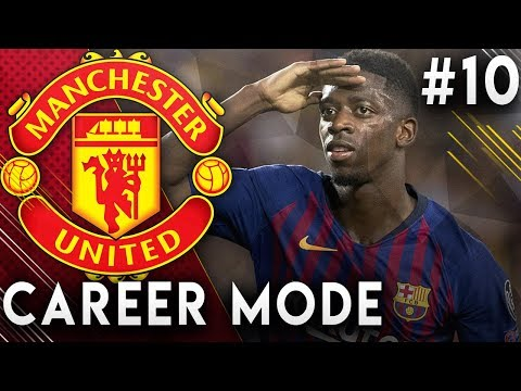 FIFA 19 Manchester United Career Mode EP10 - Signing Ousmane Dembele!! Transfer Deadline Day!!