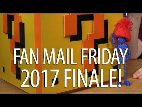 Fan Mail Friday! The LAST ONE OF 2017!