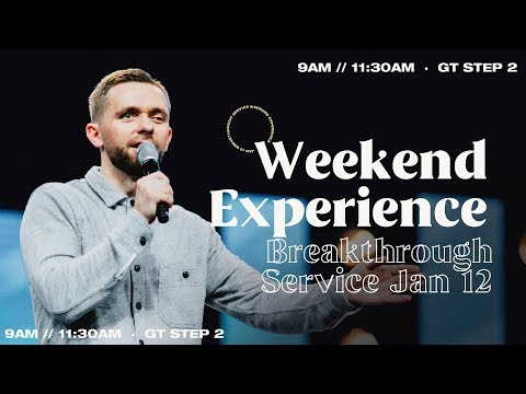 Sunday Service  January 12th, 2020  11:30 AM