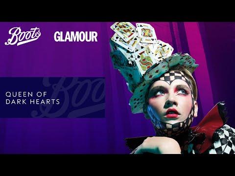 boots.com & Boots Voucher Code video: Make-up Tutorial   Halloween Queen of Dark Hearts   Boots X Glamour   Boots UK
