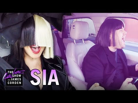 Sia chandelier live on snl fpvracer sia carpool karaoke aloadofball Image collections