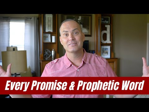 Every Promise & Prophetic Word - Joe Joe Dawson