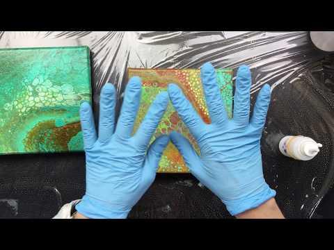 ( 679 ) DUTCH Tips voor lakken en scheuren in je schilderij