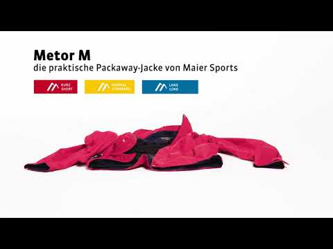 Maier Sports - Packaway Jacke Metor M