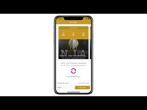 2020 College Football Playoff National Championship Mobile Tickets: Posting Tickets For Resale