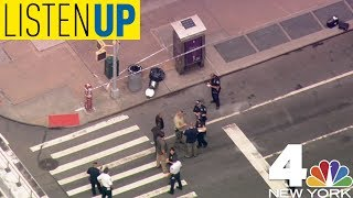 The NYPD Seeks Potential Suspect in Rush-Hour Bomb Scare   Listen Up August 16
