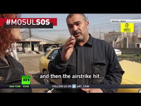 Mosul civilians killed by airstrikes were told not to flee by authorities – Amnesty