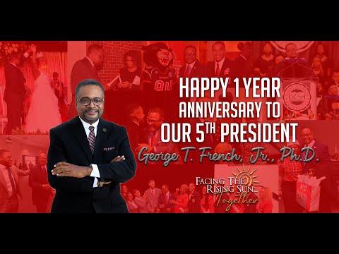 CAU Salutes | Happy Anniversary, Dr. George T. French, Jr.!