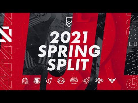 LJL 2021 Spring Split オープニングムービー