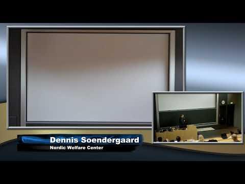 Dennis Soendergaard - Nordic Welfare Centre