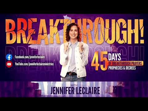 God's Thoughts Toward You Are Breakthrough (Breakthrough Day 34)