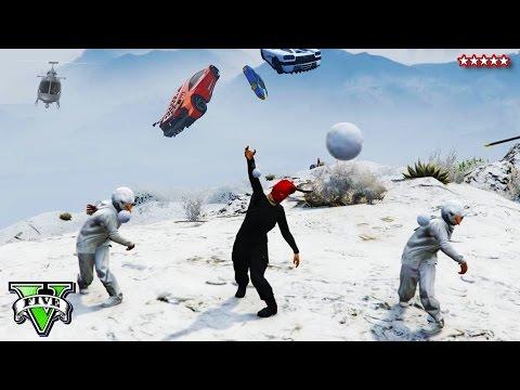 gta v online snow