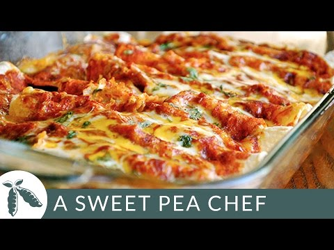 Shredded Chicken Enchiladas | A Sweet Pea Chef - UChLKkY2-ccpTthzbUCX-MJg