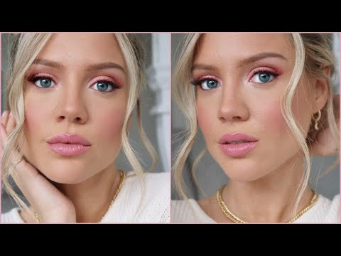 Pink Makeup Tutorial | Valentine's Day Makeup | Elanna Pecherle 2020