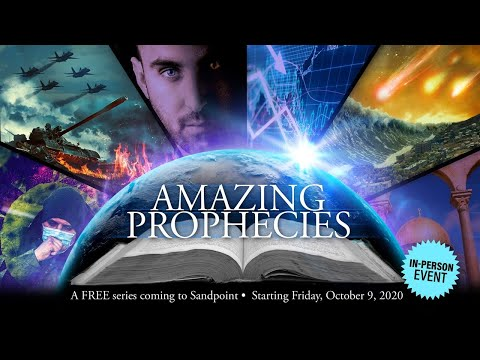 YOU ARE INVITED to Amazing Prophecies Seminar! -  Mark Fox is Coming to Idaho Oct. 9-31- 7 P.M.