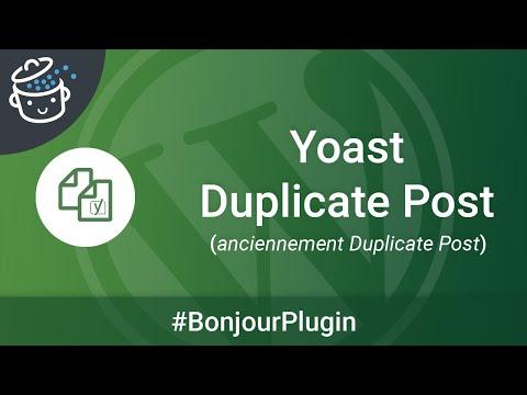 Bonjour Plugin #4 🔌  - Duplicate Post, pour dupliquer vos contenus en quelques clics