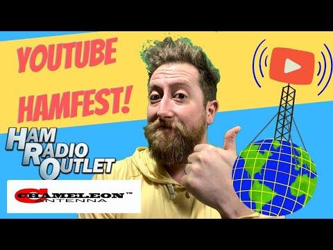 Chameleon Antenna & Ham Radio Outlet!  Youtube Ham Fest 2021