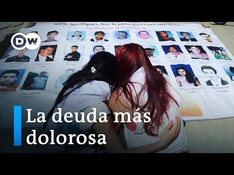 En Colombia hay 120.000 desaparecidos