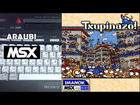 Txupinazo (Imanok, 2007) MSX [175] Walkthrough