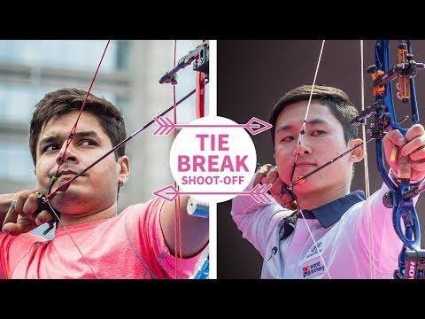 Abhishek Verma v Kim Jongho - Shootoff - Asian Archery Championship -2017