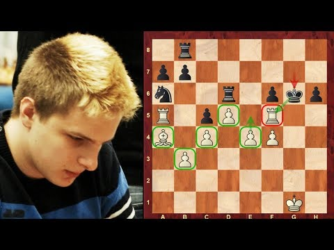 Amazing Chess Game: Richard Rapport vs David Howell : Tradewise Gibraltar (2018) : Pawn mobility