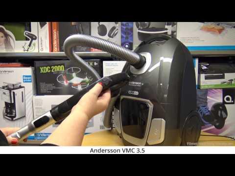Produktdemo av støvsugeren Andersson VMC 3.5
